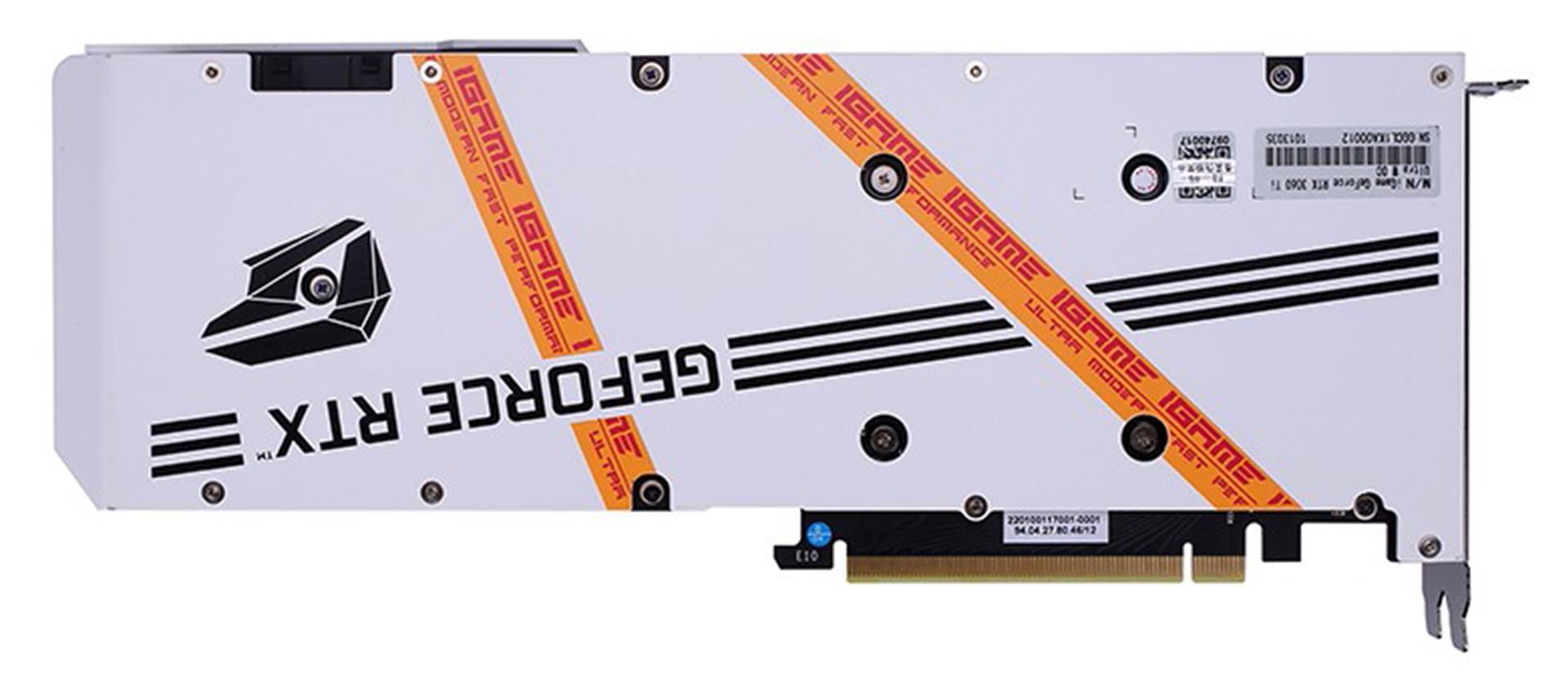 Colorful iGame GeForce RTX 3060 Ti Ultra OC White 8G-V hiệu suất hiệu quả